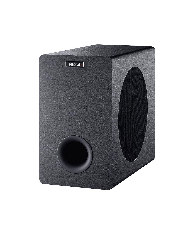 ARC Schwarz Sidefire Lautsprecher HDMI Bluetooth 4.0 aptX Dolby Digital und 3D-Raumklang CEC Magnat SBW 250 Home Cinema Soundbar mit wireless Subwoofer