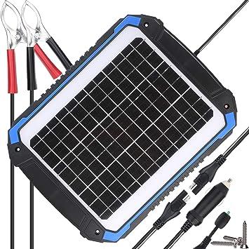 Amazon.com: SUNER POWER 12 V Cargador de batería solar para ...