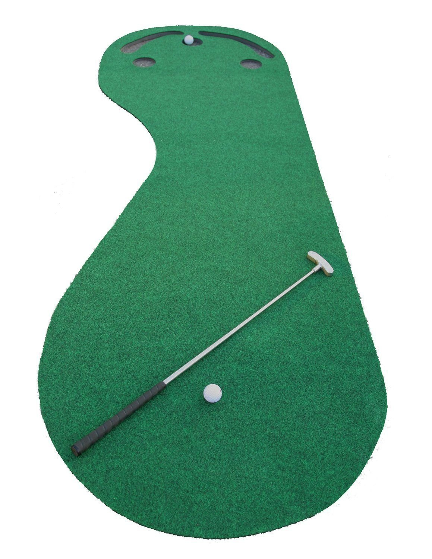Amazon.com : Indoor Golf Practice Cups Training Mat Putting Green ...
