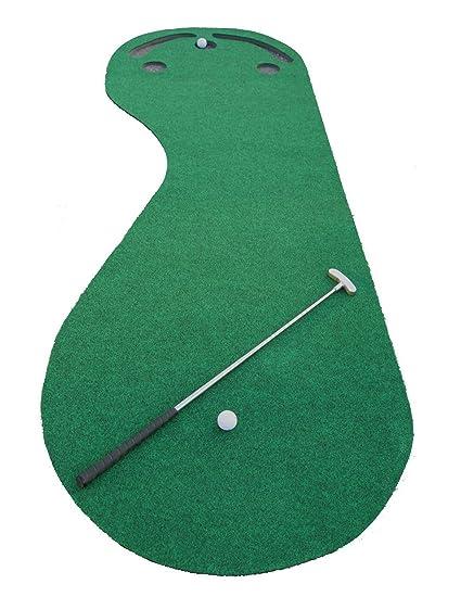 Delicieux Indoor Golf Practice Cups Training Mat Putting Green Par Ball Home Office  Floor