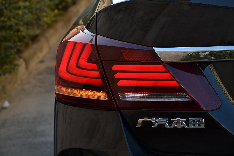 MOSTPLUS RED Clear LED Brake Tail Lights for 2013-2015 Honda Accord 4 Door Sedan Set of 2