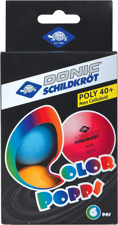 Pelotas de tenis de mesa Donic-Schildkröt Color Popps