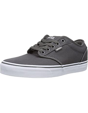 7c1ed1fa0bf0d Vans Men's Atwood Canvas Grey Low-Top Sneakers