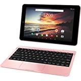 RCA Viking Pro 32GB Quad Core 10.1'' Hdmi Bluetooth Wifi Detachable Keyboard Android 6.0 (ROSE GOLD)