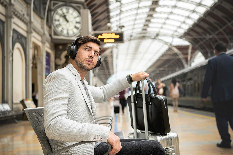Renewed Sony WH1000XM3 Bluetooth Wireless Noise Canceling Headphones Black WH-1000XM3//B