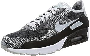 Nike AIR MAX 90 Ultra 2.0 Flyknit Cool Grey Platinum Mens Running 875943 003