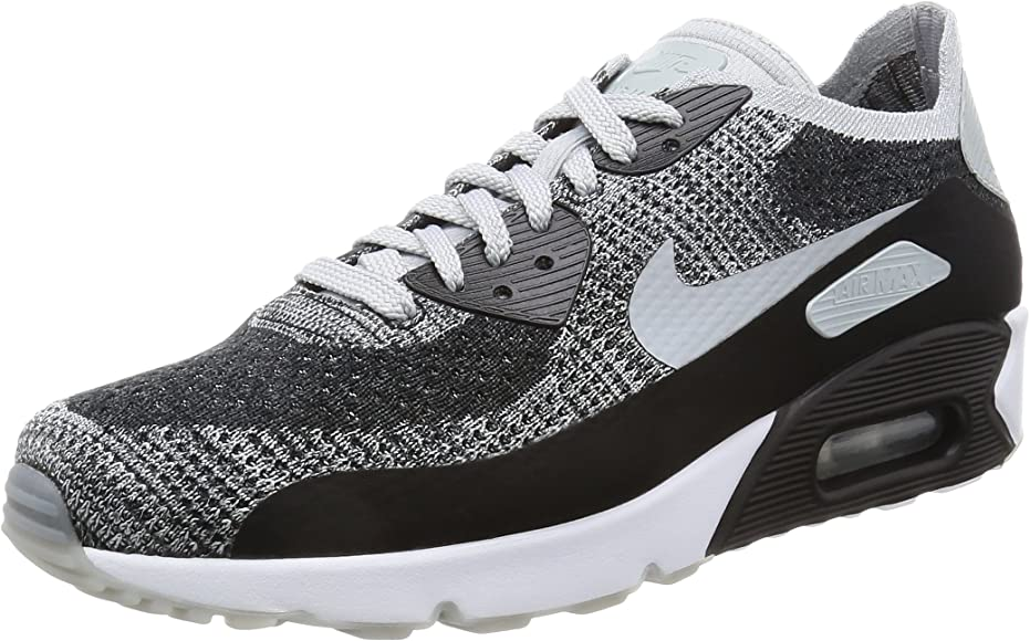 air max 90 ultra 2.0 flyknit black white