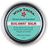 Herbal Insect Repellent Bug Balm. Natural Bug Repellent for Mosquitoes, Ants & Bugs. Non-toxic skin protection. Works with Bug Spray, Bug Repellant Bracelets and Bug Zapping Devices.