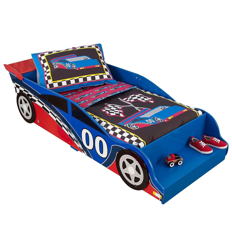 Childrens Bed bedroom furniture junior wooden bed frame Toddler KidKraft  76038 Racecar Kids
