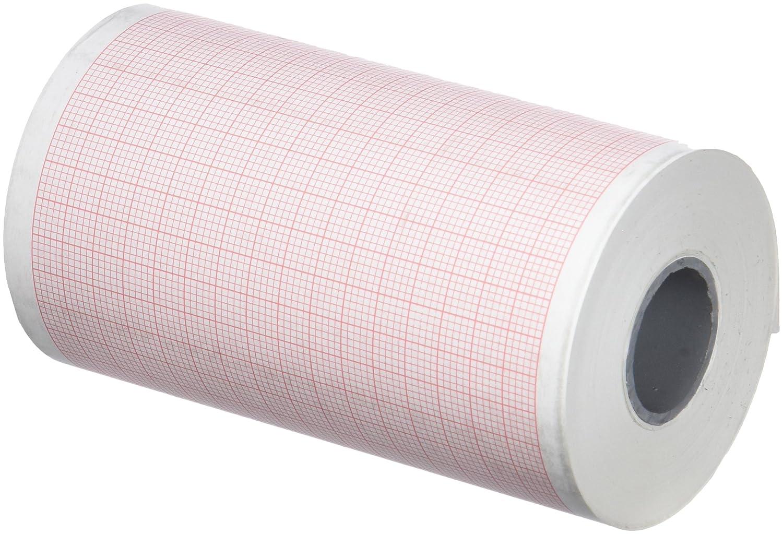 tecnocarta ri3709002819e rollo de papel térmico para ECG compatible con Esaote 9690029020, 90mm x 28m, 15piezas