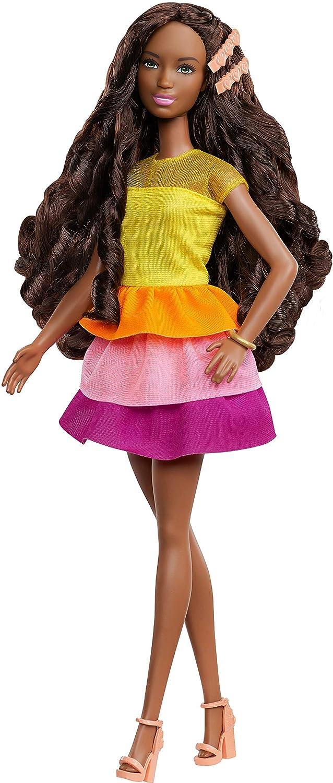 Barbie Ultimate Curls Doll /& Playset 1