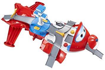 a14e89b84aa30 Auldey - Super Wings Playset Avion  quot Jett s Takeoff Tower quot  + 1  figurine Jett