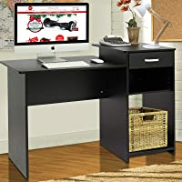 Best Choice Products Wood Computer Desk Workstation Table
