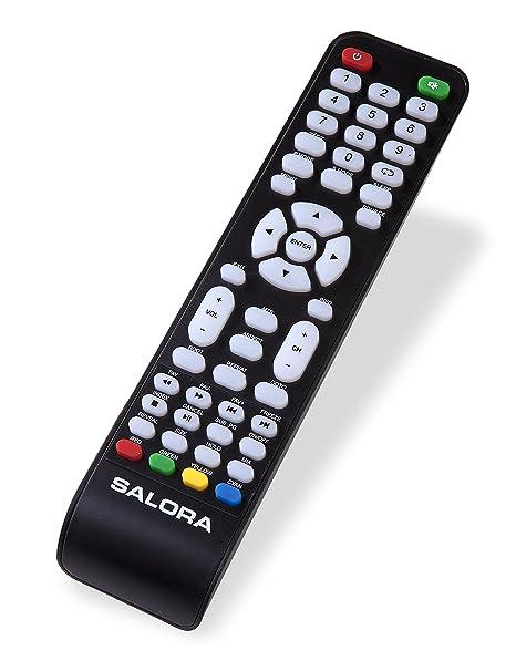 salora telecomando  Salora P84AT5016CX508020H IR Wireless Pulsanti Nero telecomando ...
