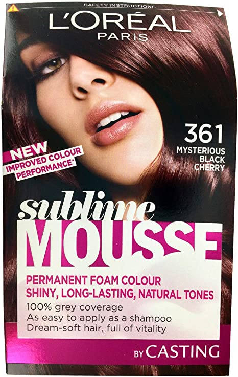 L Oreal Paris Sublime Mousse, Negro cereza número 361