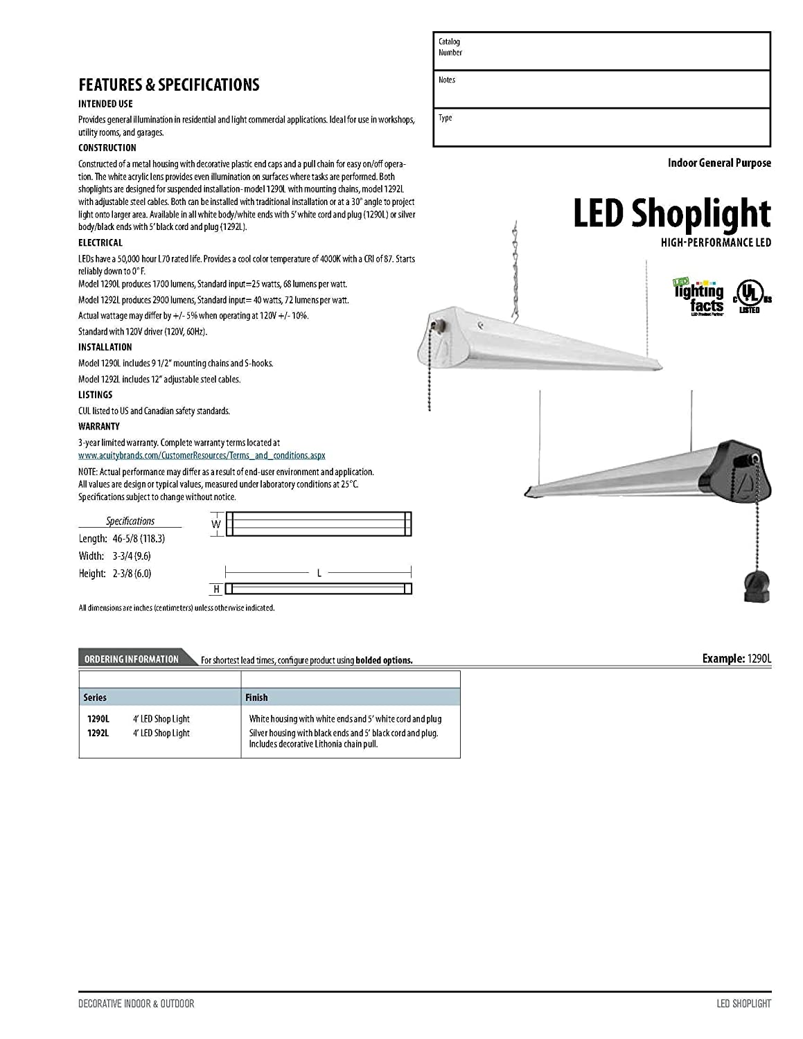 Lithonia Lighting Led Wiring Installation Shop Light Diagram Imageresizertoolcom Lights Of America 4 Foot