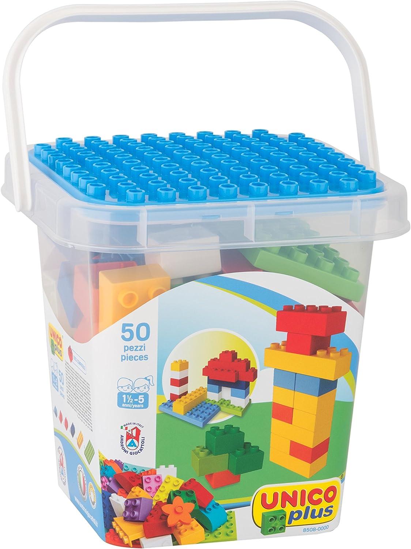 Falomir Unico 601040 - Construcción Cubo 50 Pzs