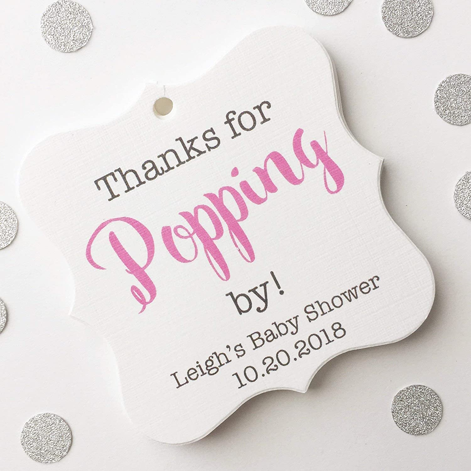 Succulents Baby Shower Mini Champagne Labels Set Of 18 She S