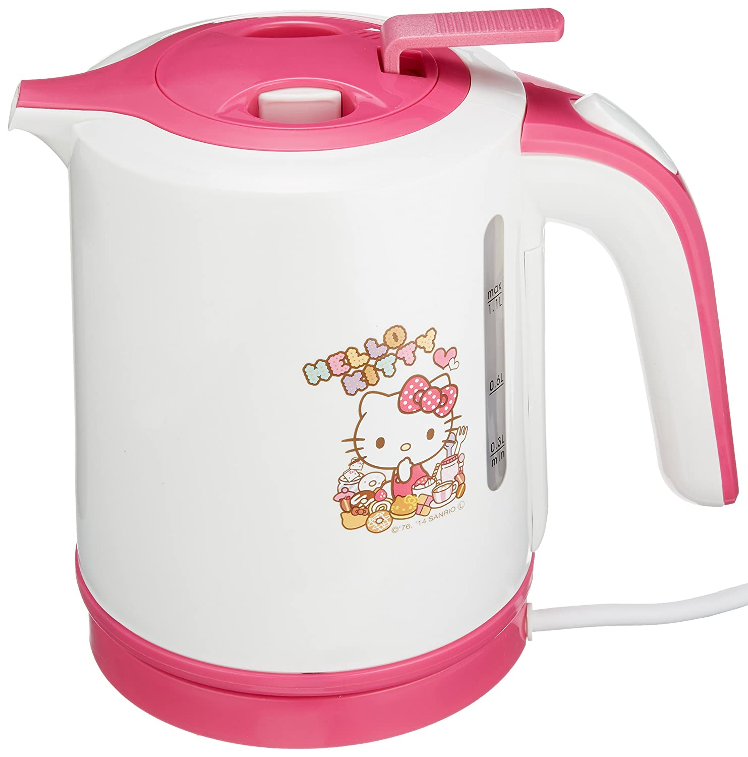 Amazon.com: Hello Kitty electric kettle 1.1L KT-154: Home & Kitchen