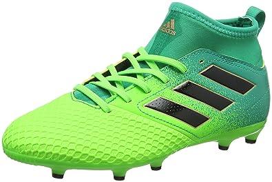 more photos d5d90 63389 adidas Ace 17.3 FG J pour Les Chaussures de Formation de Football Mixte  Enfant, Vert