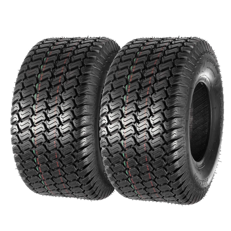 Set of 2 18x8.50-8 18x8.5x8 Lawn Mower Golf Cart Turf Tires 4PR P332