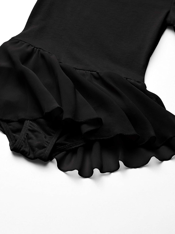 Essentials Girls Short-Sleeve Leotard Dance Dress