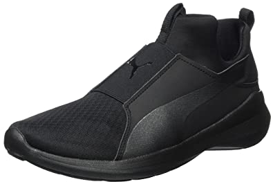 Puma Women s Rebel Mid WNS Low-Top Sneakers  Amazon.co.uk  Shoes   Bags 67619b6518f