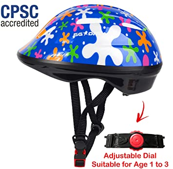 SG Dreamz - Casco para niños pequeños, Ajustable de 1 a 3 ...