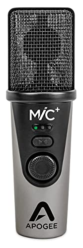 Apogee MIC PLUS - Best USB Microphone for Music
