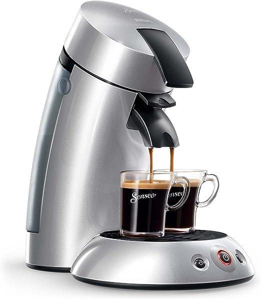 Philips HD7818/51- Máquina de café de pods, Plateado: Amazon.es: Hogar
