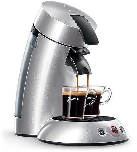 Philips HD7818/51- Máquina de café de pods, Plateado