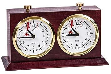 Reloj de ajedrez - BHB Special Exclusive - Caoba - Chess Clock: Amazon.es: Juguetes y juegos