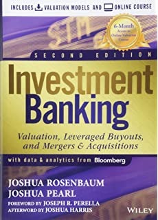 Amazon com: Investment Banking: Valuation, Leveraged Buyouts, and
