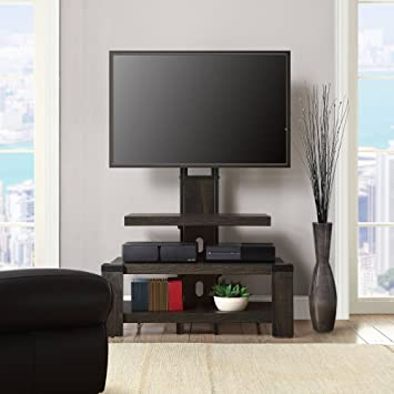 Amazon Com Whalen 3 Shelf Tv Stand With Mount For Tv S Up To 46