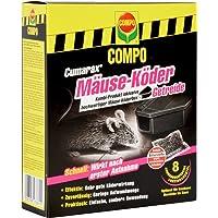 COMPO Curamax Mäuse-Köder Getreide inklusive Mäuse-Köderbox