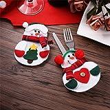 Zogin insieme di 6 Babbo Natale vestito di tasche porta posate