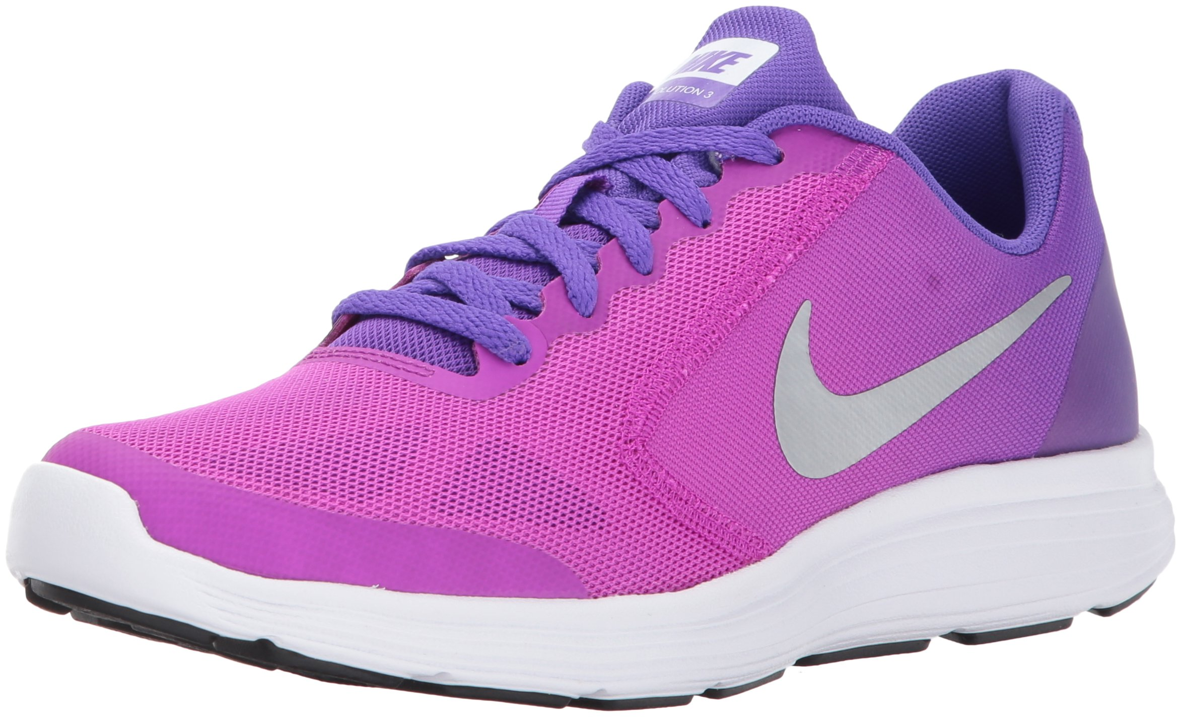 M Big Nike Silverhyper Girls' ShoeVioletmetallic 3gsRunning 5 Us Revolution Kid Grape5 nwP8X0Ok