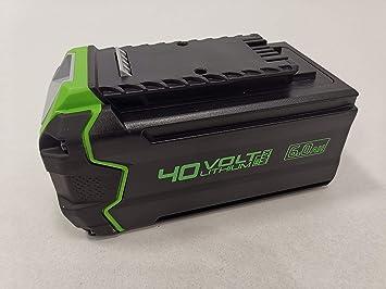 Greenworks Tools 2928907 G40B6 - Batería (40 V, 6 Ah ...