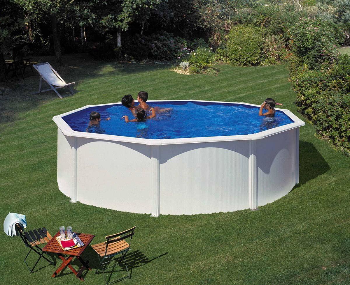 Waterman - Juego de platillos de pared (acero inoxidable, 460 x 120 cm, redondos)
