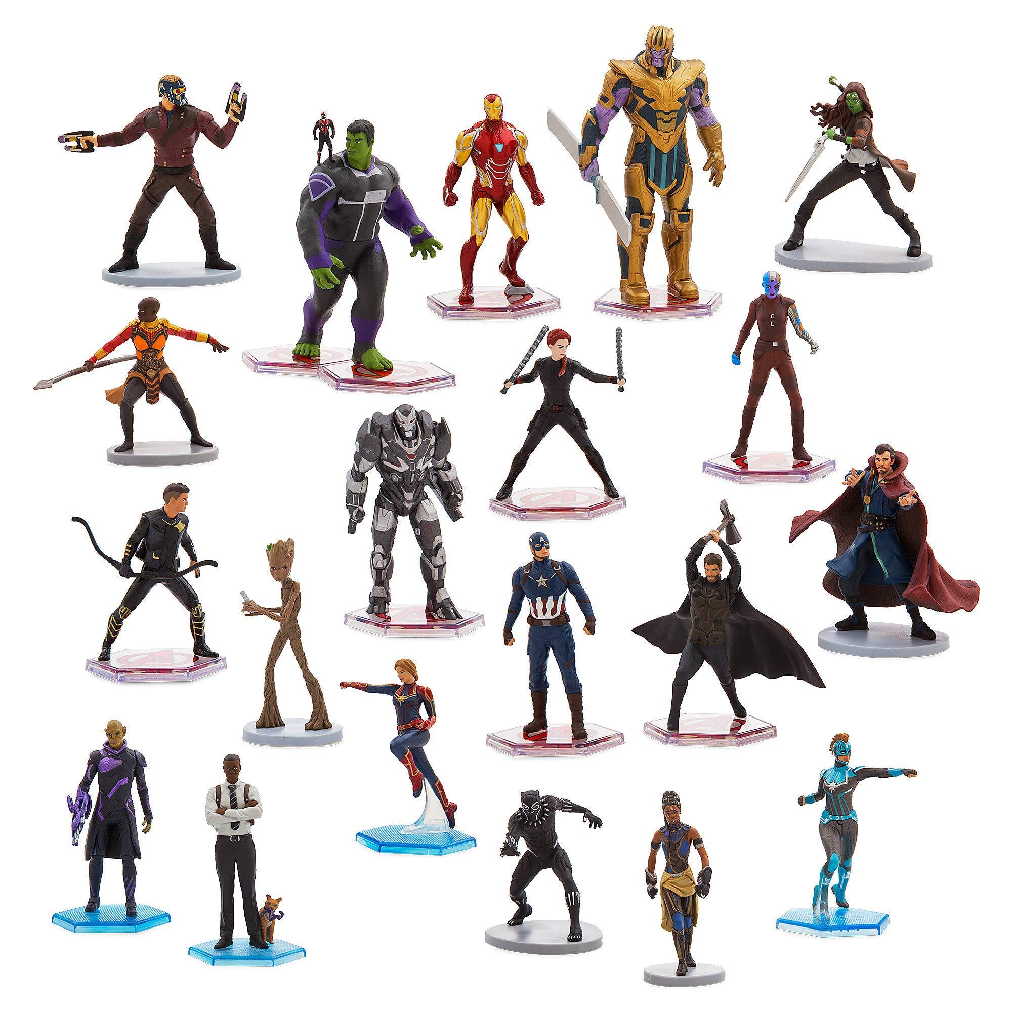 Marvel Avengers Mega Figure Play Set