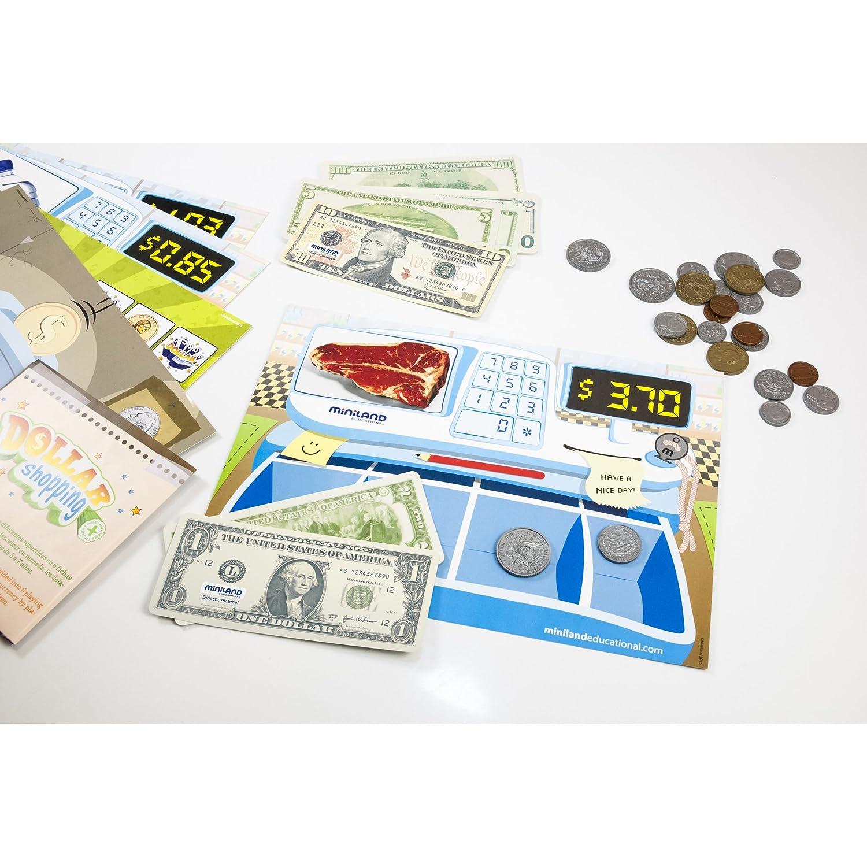 Miniland Dollar Shopping More Than /& Less Than Education Activity Miniland Educational Corp 31922