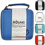 Soundbass® - ブルー Bose Soundlink (ボーズ) のプレミアムハードケースカラーワイヤレスBluetoothスピーカー持ち運び旅行収納ケースバッグ