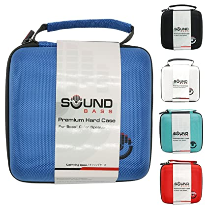 bose soundlink blue. bose soundlink color \u0026 ii case blue luxury hard carrying travel bag by soundbass colour u