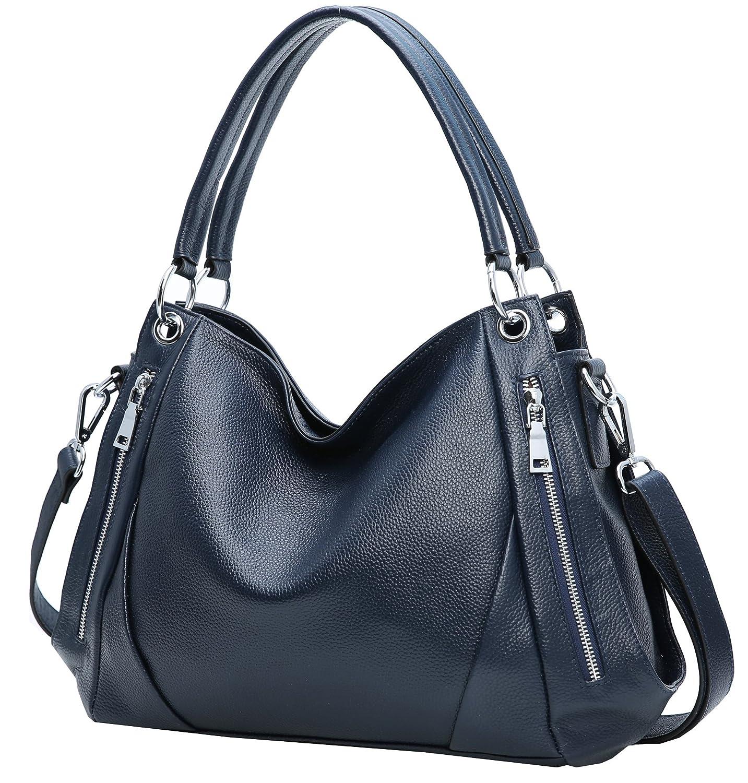 Heshe Womens Leather Handbags Shoulder Bag Hobo Laides Tote Top Handle Bag  Cross Body Bags aedd3ba5e2dee