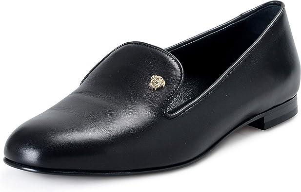 next womens black flat shoes