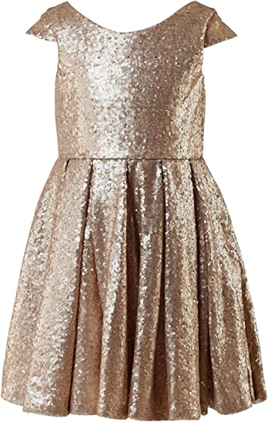Amazon.com: princhar - Vestido para fiestas de niña ...