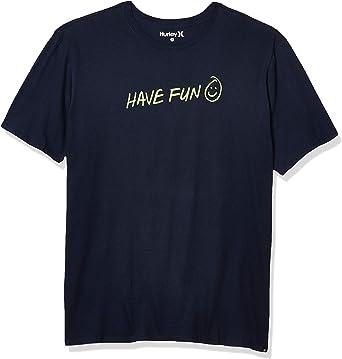 TALLA S. Hurley M Have Fun S/S Camiseta Hombre