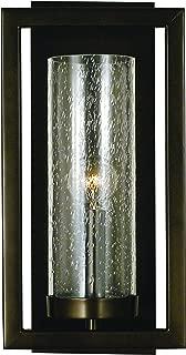 product image for Framburg 1157 MBLACK 1-Light Theorem Sconce, Matte Black