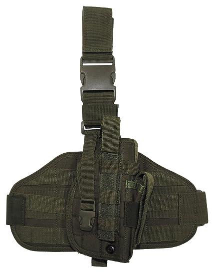 Amazon.com: MFH Tactical - Funda para pierna, color verde ...