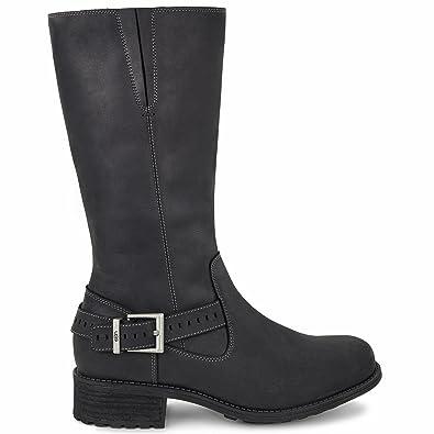UGG Women's Langton Black Boot 5 B ...